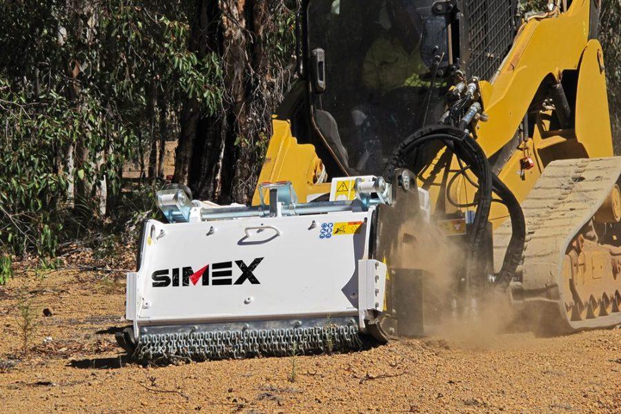 Fresatrici autolivellanti Simex mod. PL 45.20-60.20-1000-1200