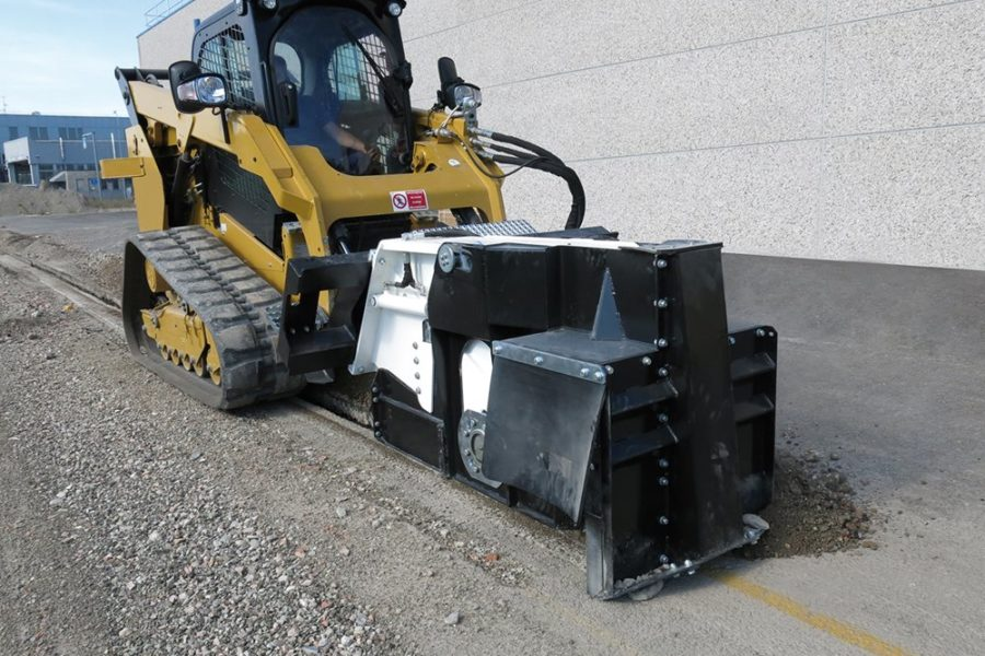 Escavatrice a ruota autolivellante Simex RW500