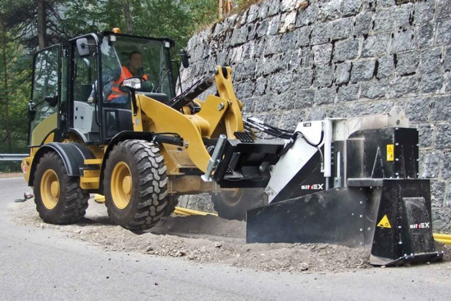 Escavatrice a ruota Simex T600