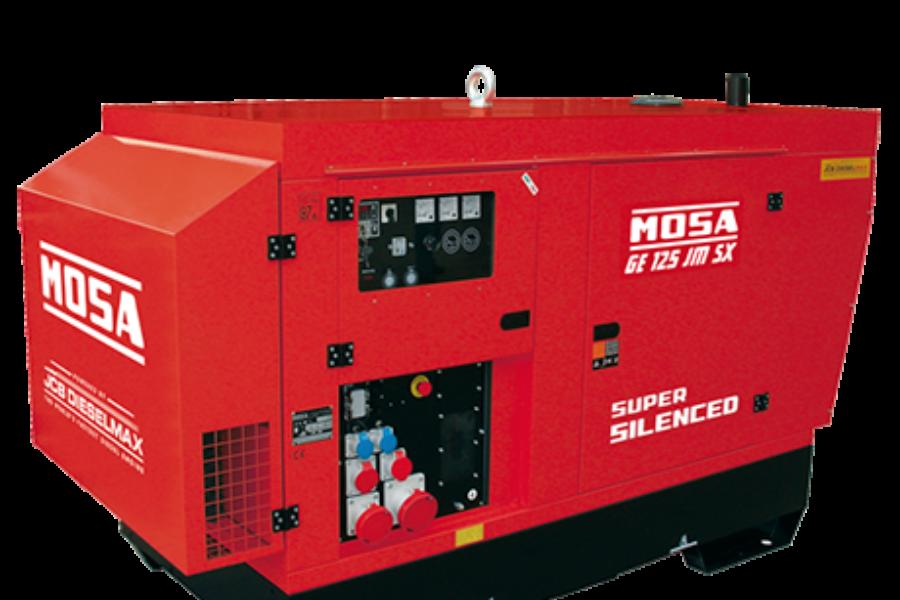 Gruppo elettrogeno Mosa GE 125 JMSX
